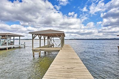 Book this lakefront vacation rental property today!