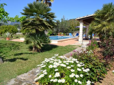 Photo for Ideal villa for families with pool and bbq near the sea in Pollença and WIFI
