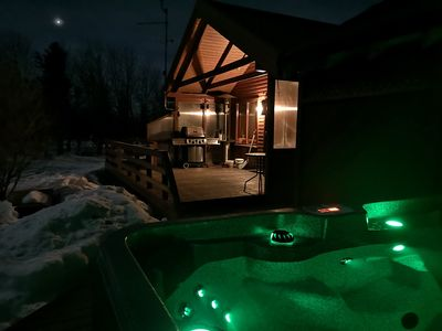 EXCEPTIONAL cottage with Jacuzzi, free wifii and Northernlights NEWLY RENOVATED