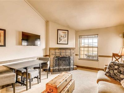 Photo for Cozy Condo w/Wood Burning Fireplace