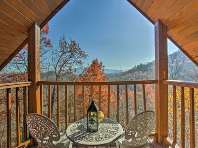 Photo for Above & Beyond Pigeon Forge Cabin w/ Prime Views!
