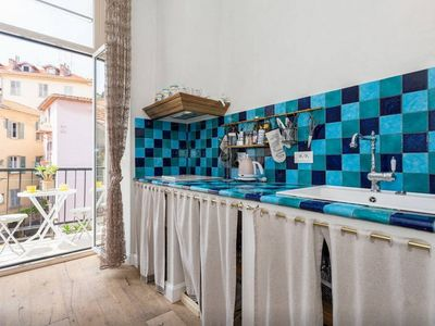 Photo for NICE PORT GARIGALDI SUPERB 3 ROOMS NEAR BEACHES 4 PEOPLE