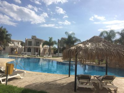 Photo for Larnaca99_2BedRoom_5pax_Beach_Wifi_Pool_Parking_Netflix