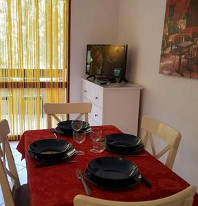 Photo for Maubuisson: Nice apartment in (rc) in quiet Residence 400m from the beach