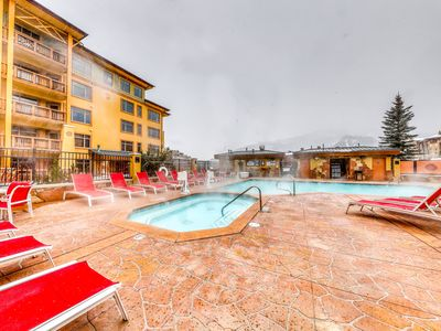 Photo for Mountain view condo in Canyons Village w/ shared pool, hot tubs, & gym
