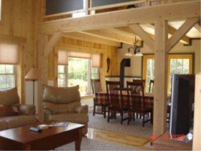 Photo for Post & Beam Cottage - Shore Access, Mountain View - Near Acadia and Beaches
