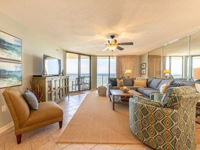 Photo for BEAUTIFUL UNIT WITH GREAT VIEWS OF THE GULF AND PASS