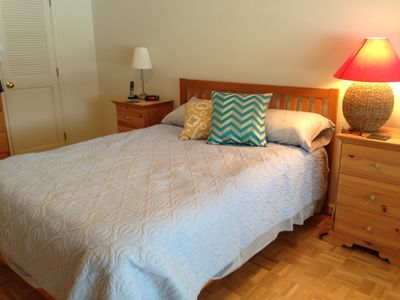 Bedroom #1-2 dressers, nightables, large closets plus a great lake view!