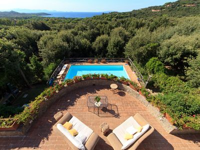 Photo for Beautiful villa with breathtaking view