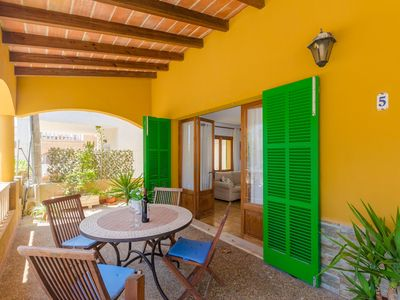 Photo for ES PAGELL - Chalet with terrace in Sa Ràpita.