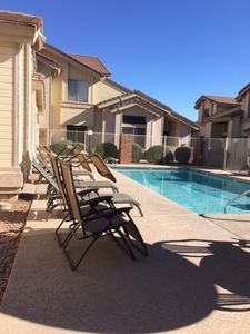 Photo for Amazing Poolside 2 BR/2bath  Convenient 1 Suite Downstairs