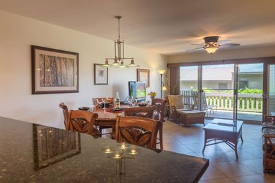Spacious open floor plan - beautifully remodeled - easy access to the beach.