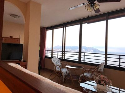 Photo for Poniente apartment with fabulous sea views