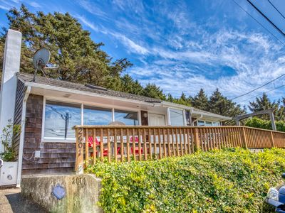 Photo for Dog-friendly oceanview home just two blocks to the beach, near town and hiking