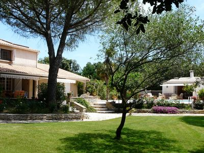 Photo for VILLA private pool in scrubland in the vineyards to MONTAUD