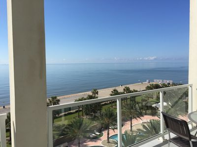 Photo for Beautiful 3 bedrooms condo with full view of the Gulf!