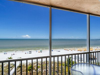 Photo for Amazing Island View of Beach & Gulf! Heated Pool & BBQ Grills!
