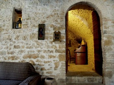 Photo for ROOM the GROTTO in FARMHOUSE, for two people, breakfast included