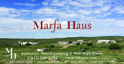 "Photo for Marfa Haus - ""Peachtree House"" - Working Ranch Retreat - 2 Bdrm 1 Bth Sleeps 4"