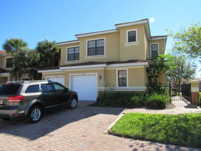 Photo for Modern Spacious Family Resort Townhome With Lanai Near Orlando