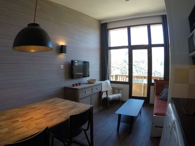 Photo for 2p Falaise Avoriaz, top floor, facing south, exceptional view, ski-in ski-out