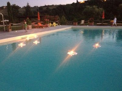 Photo for ideal for 4/5 guests, with large panoramic terrace, swimming pool and park