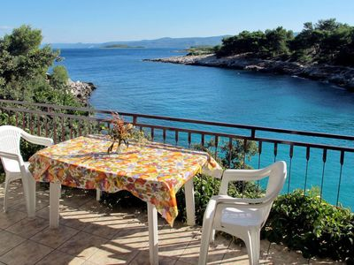 Photo for Apartment Buda (HVR217) in Hvar/Kalober - 6 persons, 2 bedrooms