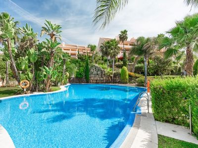 Photo for 3 bedroom Apartment, sleeps 6 with Pool, Air Con and FREE WiFi