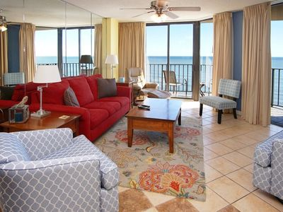 Photo for Summit 9D Fantastic 3 Bedroom Luxury Condo With Oceanfront Balcony