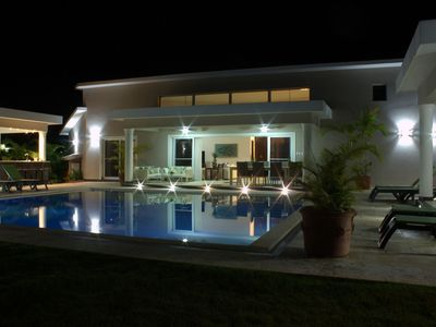 Photo for New six bedroom with BBQ and large pool