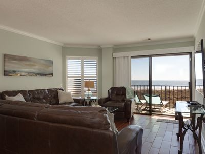 Photo for Fabulous Ocean Front Views In Gated Villa Complex, Private Pool & Beach Access