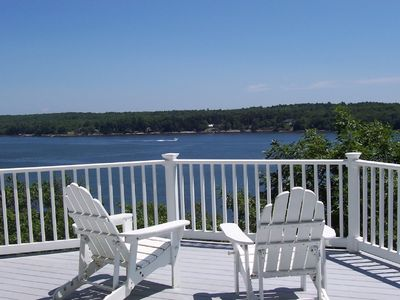 Waterfront Captain's Cottage with deep-water dock on private 6-acre property