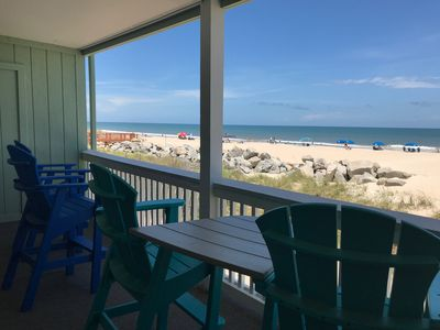 Photo for Steps from the Beach! Oceanfront Condo with Great Location and Views