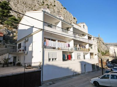 Photo for Apartment in Omiš (Omiš), capacity 4+4