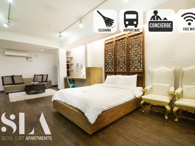 ★SLA★06.Central Classic Loft(Monthly Discount/DDP)