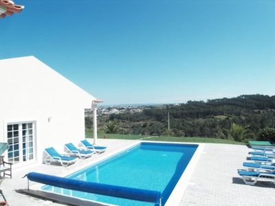 Photo for Luxury Villa with Private Heated Pool, Panoramic Mountain Views with free Wi Fi