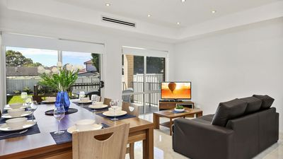 Photo for Modern 4 Bdrm Sydney Home, Sleeps 10, Close to City Great Value for Large Groups