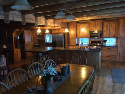 Photo for Beautiful large cabin near Ponderosa State Park with lots of parking