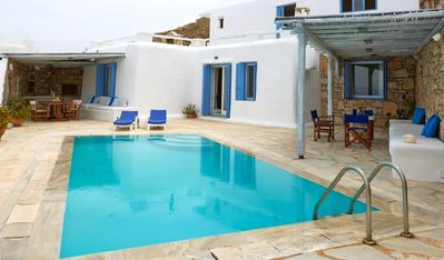 Photo for Villa Ego |  Superb view close to Mykonos town
