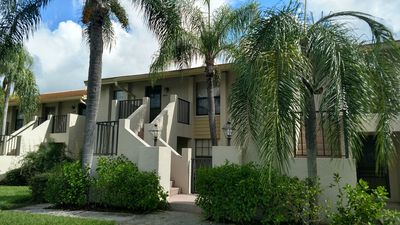 Photo for Lovely 2 Bed 2 Bathroom Condo in a  overlooking a lake and the golf course