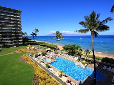 Photo for Maui Beachfront Beauty- Convenience of Condominium Living With Hotel Amenities