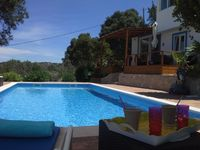 Beautiful pool, small but perfectly appointed villa with an incredible view and friendly hosts.