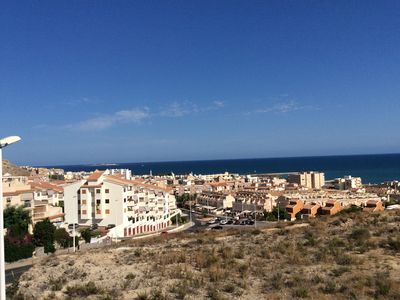 Photo for Large modern town house: sea view, pool, WIFI, close to the sea