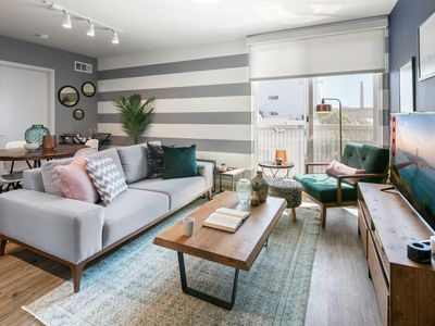 Photo for Sleek Dogpatch 2BR w/ Gym at 23rd St Muni Stop by Blueground