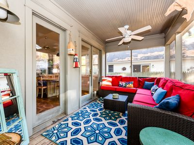 Photo for Family Friendly Union Pier Retreat with Hot Tub(Open all YEAR!) Close To Beach!