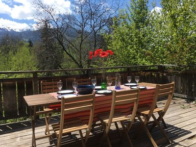 Photo for NEW! Chalet La Perce Neige minutes to village centre and Bettex ski lift