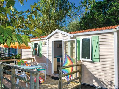 Photo for Camping Castle Eouvière **** - Mobil-home Classic Plus 4 rooms 6 people