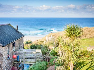 Photo for Girl Annie, Cornish Cottage With Superb Sea Views & Garden, By Beach
