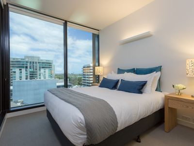 Photo for Wyndel Apartments - St Kilda Views One Bedroom apartment Balcony/Gym