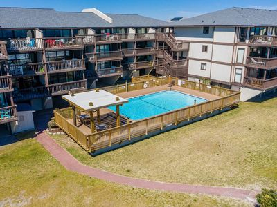 Photo for Oceanfront. Large Deck, Covered Parking, Elevator, Oceanfront Pool, FREE WIFI.  Booking for 2018...